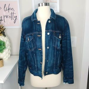 American Eagle Outfitters Blue Denim Jacket M